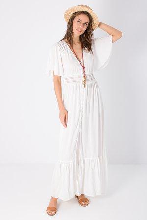 Smash JESSICA Dámské šaty bílá