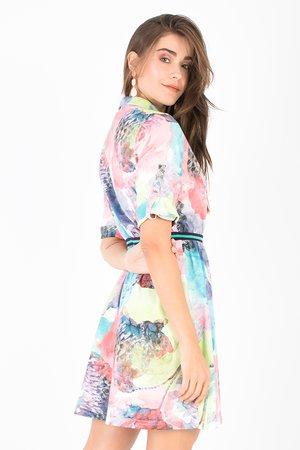 Smash JOSEPHINE Dámské šaty mix farieb barev