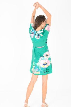 Smash DIANA Dámské šaty zelená