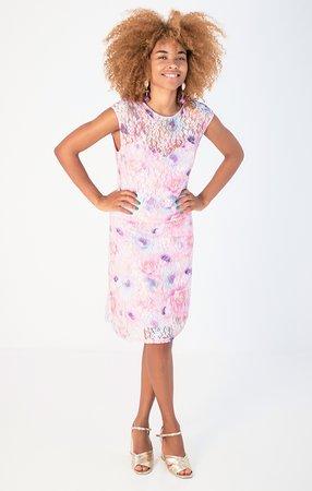 Smash ELIZABETH Dámské šaty fialová