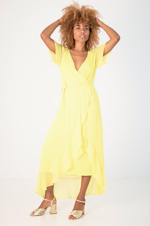 Smash EMERSON Dámské šaty žlutá