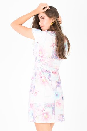 Smash OKAINA Dámské šaty růžová S (1983462)