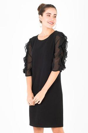 Smash MAKAYLA Dámské šaty černá