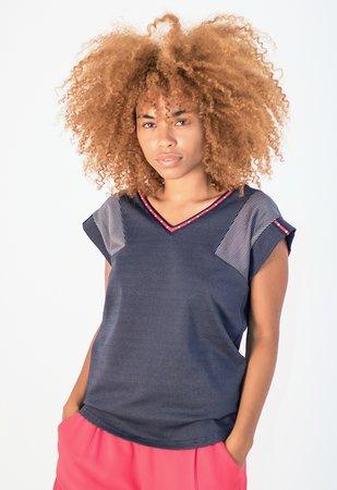 Smash KAREN Dámské tričko tmavo modrá