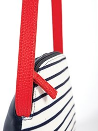 Smash KENTIA Dámská kabelka tmavě modrá jedna velikost