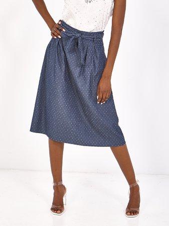 Smash CERCIS Dámská sukně tmavě modrá