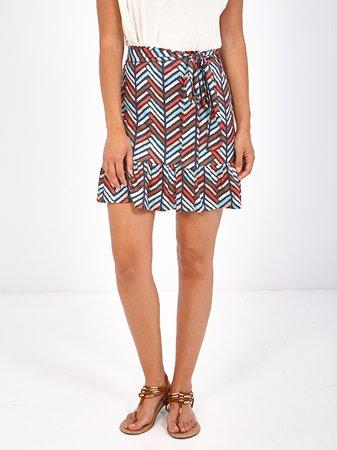 Smash NANUSA Dámská sukně mix barev barev