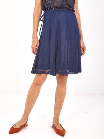 Smash TILIA Dámská sukně tmavě modrá