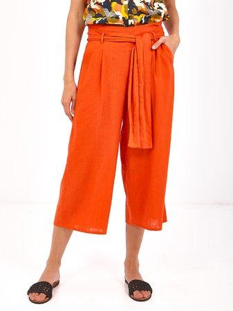 Smash HEMNES Dámské kalhoty oranžová