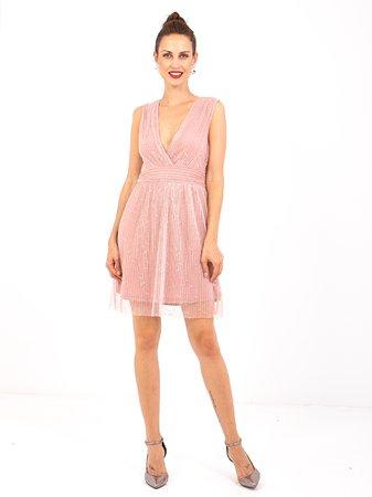 Smash UVAS Dámské šaty růžová