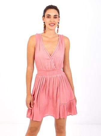 Smash YURA Dámské šaty růžová