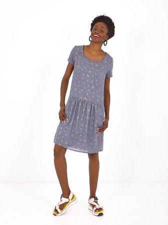 Smash MIRTO Dámské šaty modrá