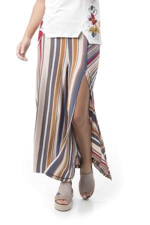 Mamatayoe Salgari Dámské kalhoty béžová