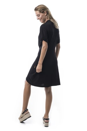 Mamatayoe Sortelha Dámské šaty černá