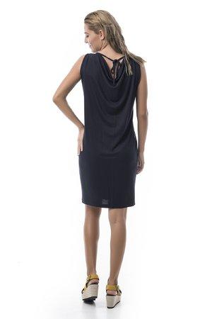 Mamatayoe Spetses Dámské šaty tmavě modrá