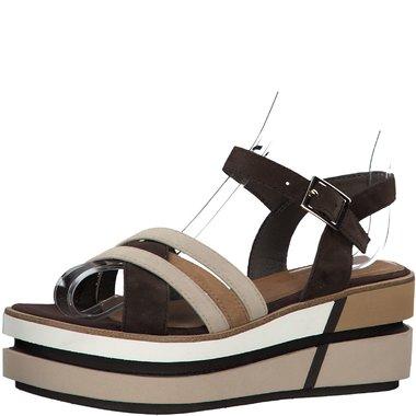 1-28014-24 Dámské boty 385 hnědá  velikost