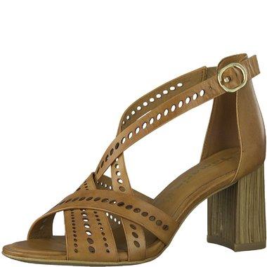 1-28052-34 Dámské boty 305 hnědá  velikost