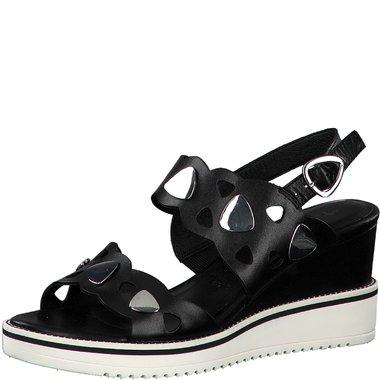 1-28053-34 Dámské boty 001 černá velikost