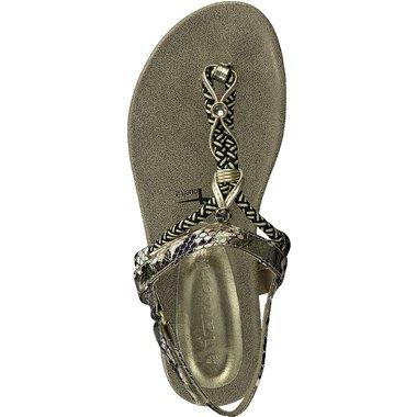 1-28180-24 Dámské boty 979 zlatá velikost