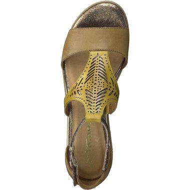 1-28228-24 Dámské boty 694 hnědá  velikost