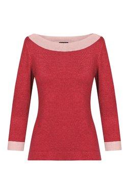 Zilch 11BAS30.016P Dámský svetr 389 červená