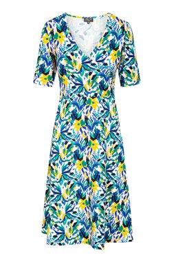 Zilch 11EVI40.075R Dámské šaty 983 mix barev barev