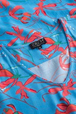 Zilch 11RVI40.110 Dámské šaty 972 modrá