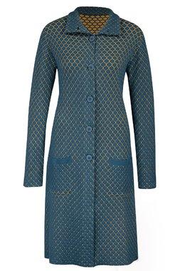 Zilch 12COMJ20.040 Dámský kabát 000074 modrá