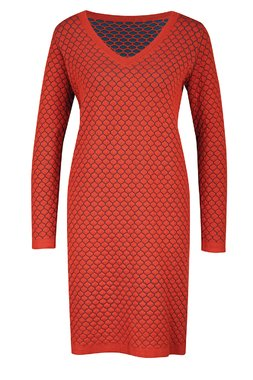 Zilch 12COMJ40.158 Dámské šaty 000371 tmavě červená