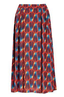 Zilch 12VCR50.075 Dámská sukně 000745 tmavě červená
