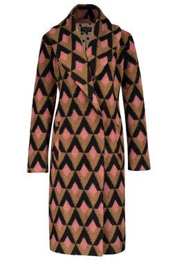 Zilch 12WAP80.030 Dámský kabát 000811 růžová