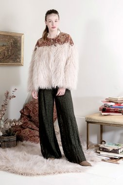 Nekane MARINA.LR - Dámský kabátek bílý