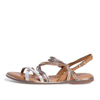 1-28145-26 Dámské boty 948 stříbrná velikost