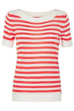 Nümph NEW KEIICHI Dámský tričko s červeným proužkem