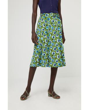 Surkana 511DOPO615  Dámská sukně 61 zelená