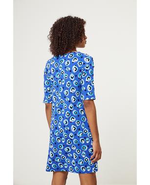 Surkana 511DOPO716  Dámské šaty 51 tmavě modrá