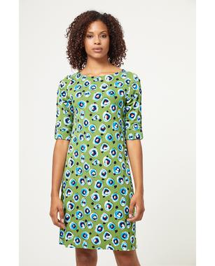 Surkana 511DOPO716  Dámské šaty 61 zelená