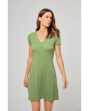 Surkana 511DOPO719  Dámské šaty 62  zelená