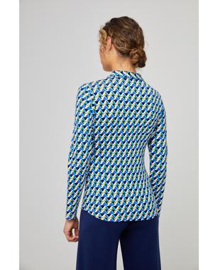Surkana 511DOVI114  Dámská košile 51 tmavě modrá