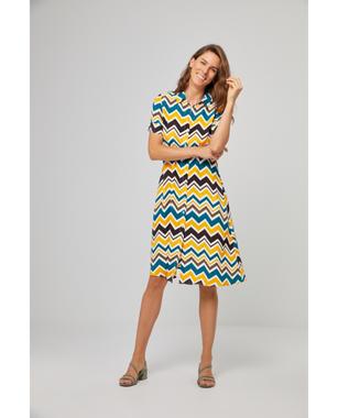 Surkana 511KEBE721  Dámské šaty 10 žlutá
