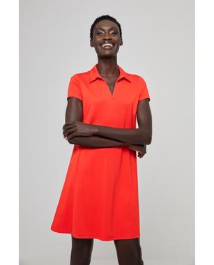 Surkana 511LIMM714  Dámské šaty 20 oranžová