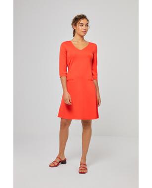 Surkana 511LIMM715  Dámské šaty 20 oranžová
