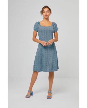 Surkana 521BERA715  Dámské šaty 53 modrá