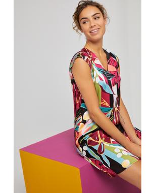 Surkana 521DABI727  Dámské šaty 95 mix barev barev