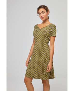 Surkana 521HOVI716  Dámské šaty 61 zelená