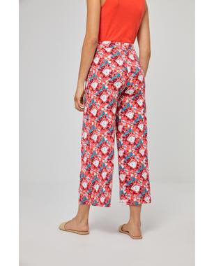 Surkana 521NALY511  Dámské kalhoty 40 červená