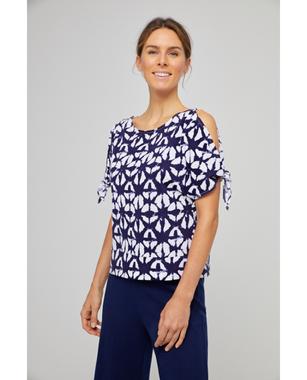 Surkana 521NAPI016  Dámské tričko 50 modrá