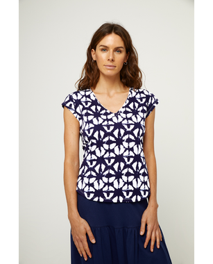 Surkana 521NAPI018  Dámské tričko 50 modrá