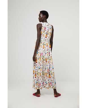 Surkana 521TIEB725  Dámské šaty 95  mix barev barev