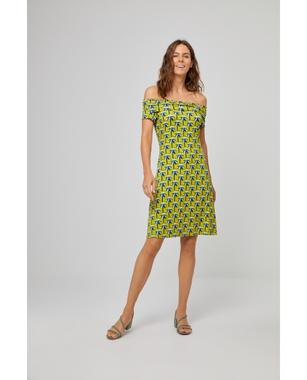 Surkana 521TIKA717  Dámské šaty 61 zelená